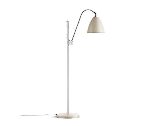 Bestlite BL3 M Floor lamp | Off-White/Chrome by GUBI | Free-standing lights