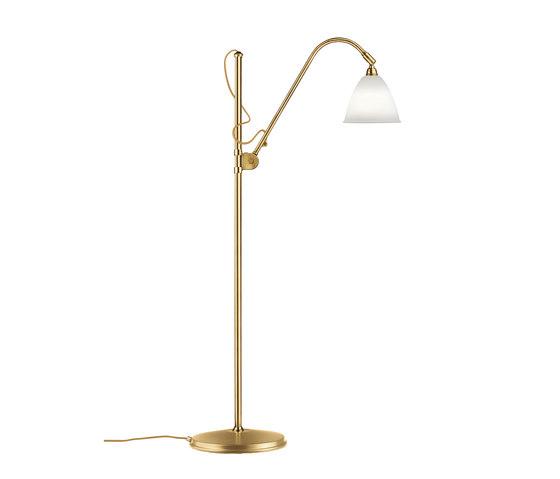 Bestlite BL3 S Floor lamp | Bone China/Brass by GUBI | Free-standing lights