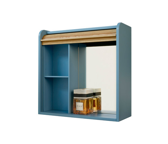 Tapparelle Hanging Cabinet, Mirror by Colé | Wall cabinets