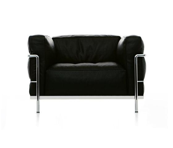 LC3 fauteuil de Cassina | Fauteuils d'attente
