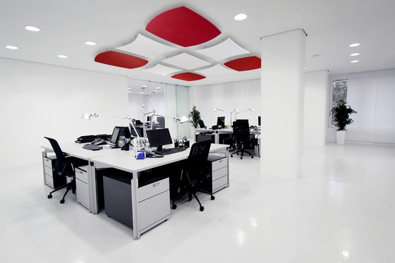 OWAconsult collection | Deckensegel Curve by OWA | Acoustic ceiling systems