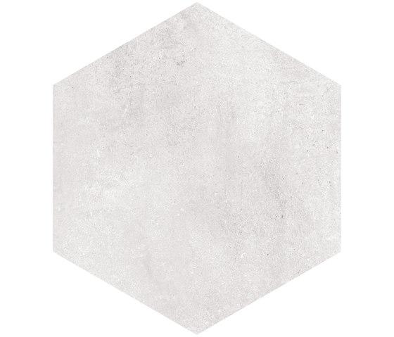 Rift | Hexagono Rift Blanco von VIVES Cerámica | Keramik Fliesen