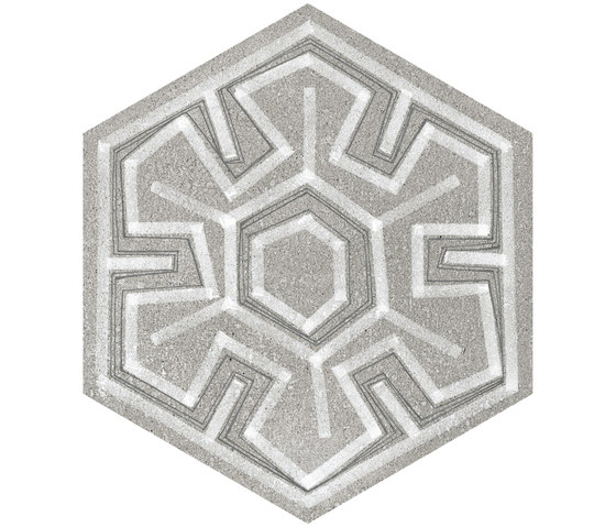 Rift | Hexagono Igneus Cemento von VIVES Cerámica | Keramik Fliesen