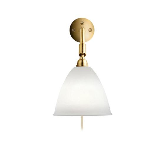 Bestlite BL7 Wall lamp HW   Bone China/Brass by GUBI   Wall lights