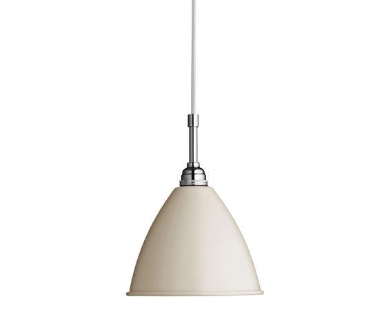 Bestlite BL9 S Pendant | Off-White/Chrome by GUBI | Suspended lights