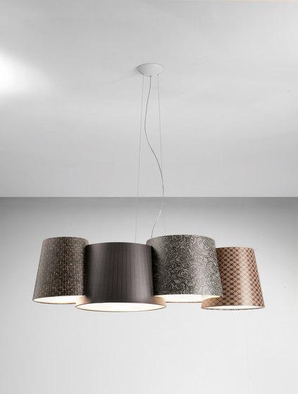 Melting Pot SP 115 dark patterns with diffusers de Axolight | Suspensions