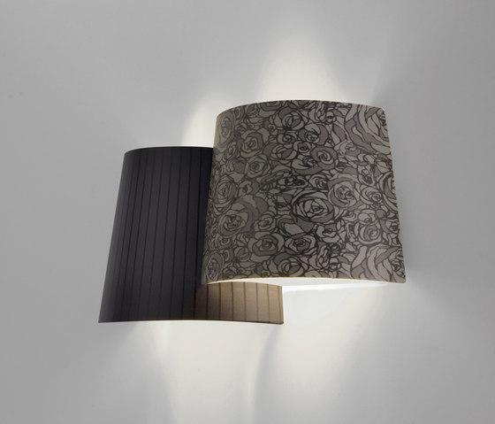 Melting Pot AP dark patterns by Axolight | Wall lights
