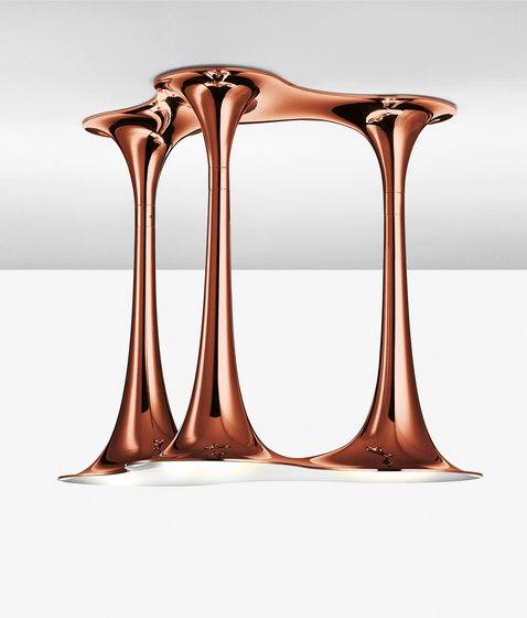 Nafir PL3 bronze by Axolight | Ceiling lights