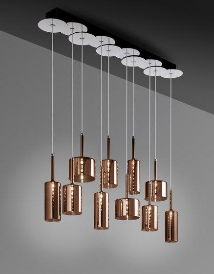 Spillray SP 10 bronze von Axolight | Pendelleuchten