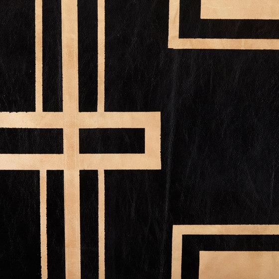 Umber and Black Bold Rug - Half Hide by AVO | Rugs