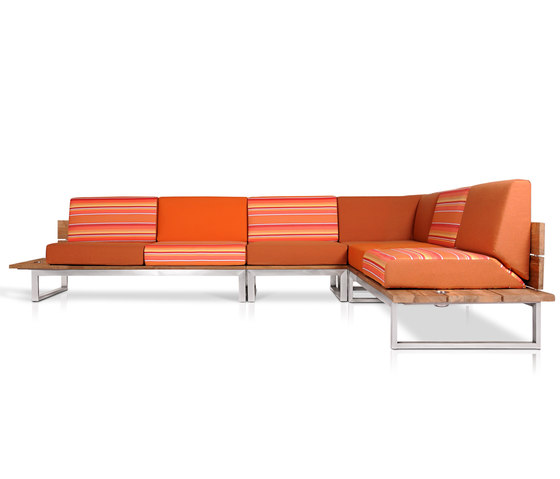 Oko Lounge Combination 3 (no bolster) by Mamagreen | Sofas