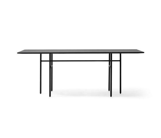 Snaregade Dining Table | Rectangular Black by MENU | Dining tables