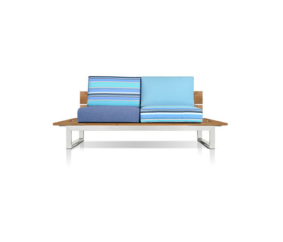 Oko Lounge 2-seater (no bolster) by Mamagreen | Sofas
