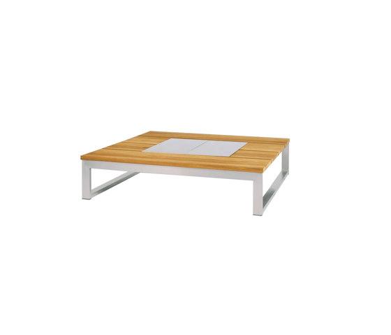 Oko Lounge coffee table 110x110 cm with ice bin de Mamagreen | Mesas de centro