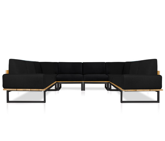 Oko Lounge Combination 4 (with bolster) de Mamagreen | Sofás