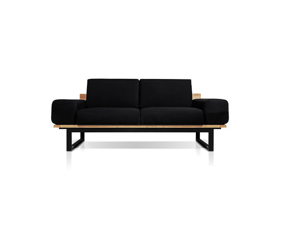 Oko Lounge 2-seater (with bolster) by Mamagreen | Sofas