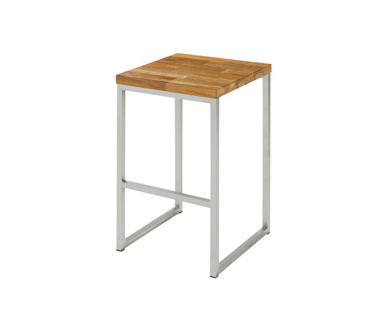 Oko high stool (random laminated top) by Mamagreen | Bar stools