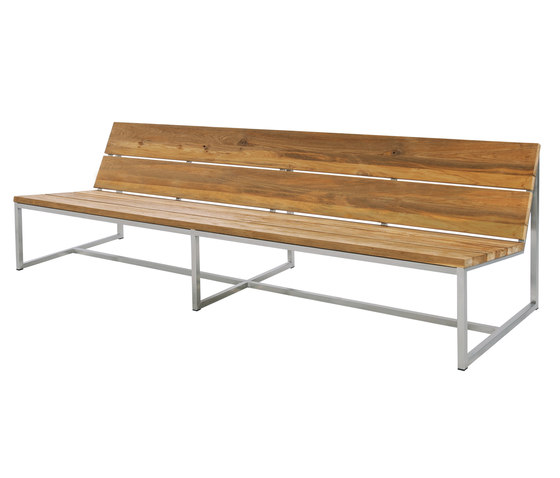 Oko casual bench 235 cm by Mamagreen | Benches