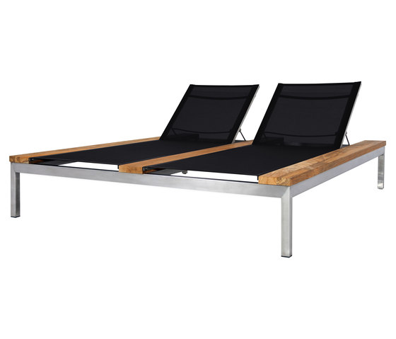 Oko double lounger (batytline) by Mamagreen | Sun loungers