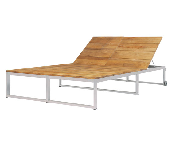 Oko Lounge double sun lounger by Mamagreen | Sun loungers