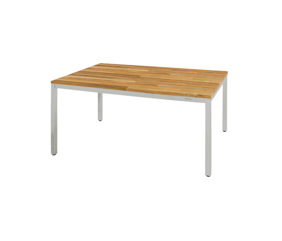 Oko dining table 150 x 90 cm (post legs - random) by Mamagreen | Dining tables