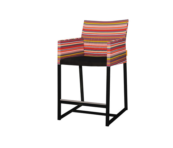 Stripe counter armchair by Mamagreen   Bar stools