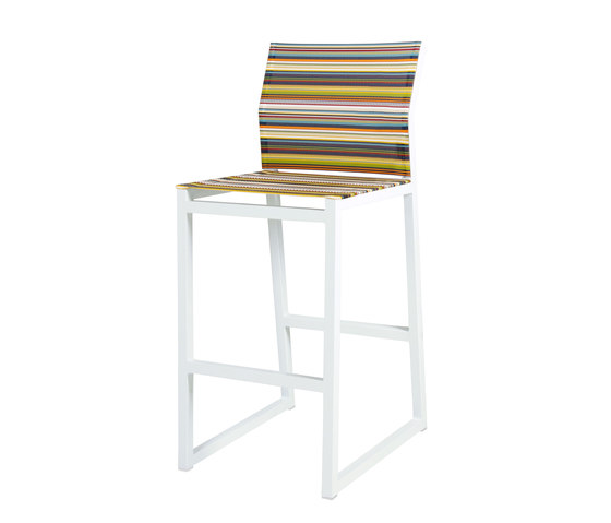 Stripe bar chair by Mamagreen | Bar stools