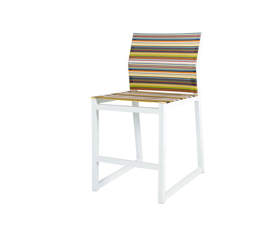 Stripe counter chair by Mamagreen | Bar stools