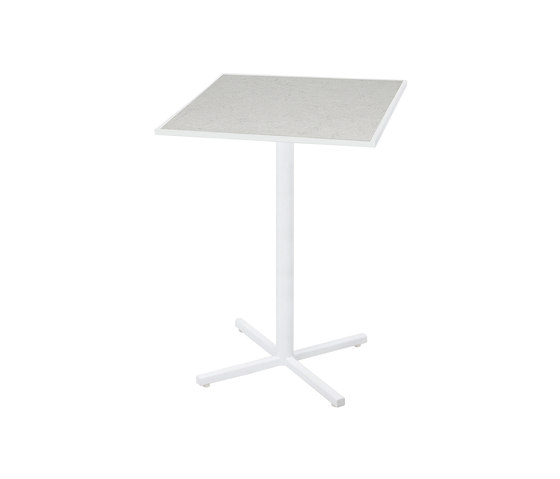 Allux bar table 65x65 cm (Base P) von Mamagreen | Stehtische