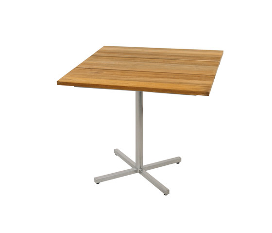 Oko dining table 90x90 cm (Base C - diagonal) by Mamagreen | Dining tables