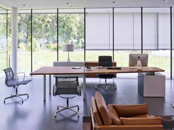 TIX Office von Zoom by Mobimex | Direktionstische