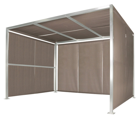 Canopy single 360 hanging sides by Mamagreen   Gazebos