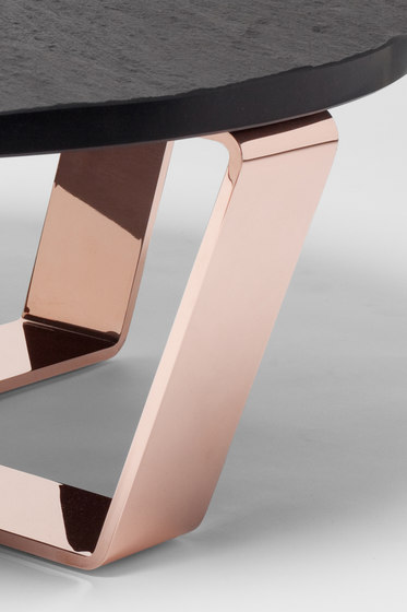 Slate Table Copper Black | Coffeetable by Edition Nikolas Kerl | Lounge tables