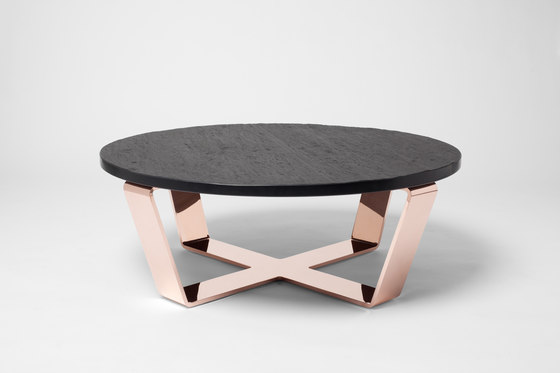 Slate Table Copper Black | Coffeetable by Edition Nikolas Kerl | Coffee tables