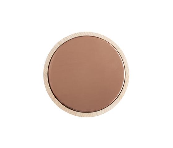 Charles Metal Copper | Wandhaken von Edition Nikolas Kerl | Handtuchhalter