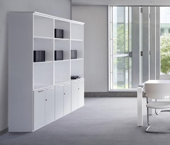 Concepto Free | Blanco | Blanco de Ofifran | Sistemas de estantería