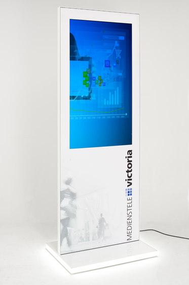 Victoria Mediastele by Meng Informationstechnik | Digital signage