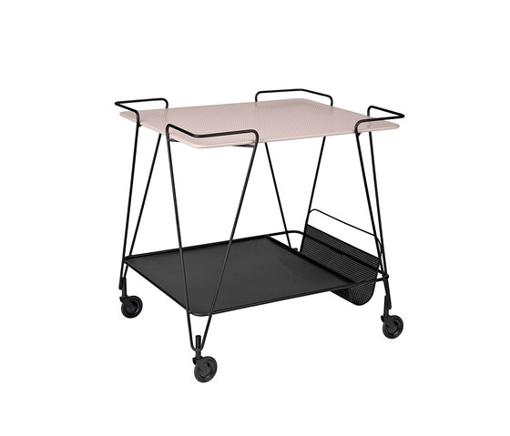Matégot Trolley by GUBI | Tea-trolleys / Bar-trolleys