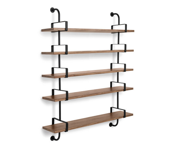 Dèmon Shelf | 5 Shelf by GUBI | Wall shelves