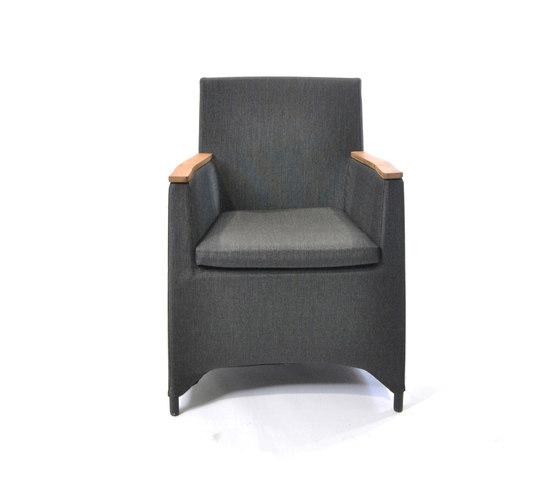 Rio armchair di Fischer Möbel | Poltrone