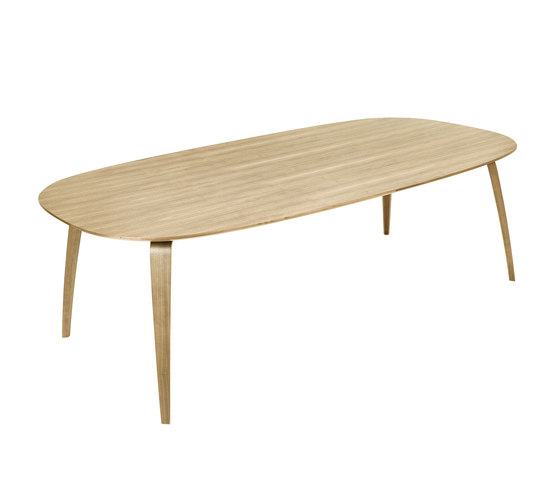 Gubi Dining Table Elliptical by GUBI | Dining tables