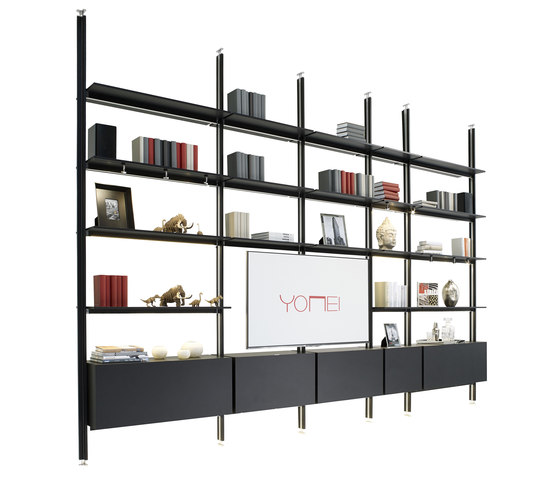 Magic Matrix Shelf de Yomei | Estantería