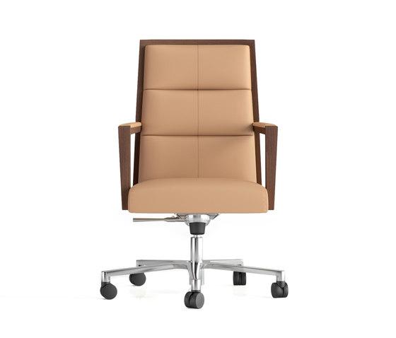 Square ejecutivo ruedas von Ofifran   Stühle