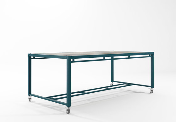 Atelier RECTANGULAR DINING TABLE de Karpenter | Mesas comedor