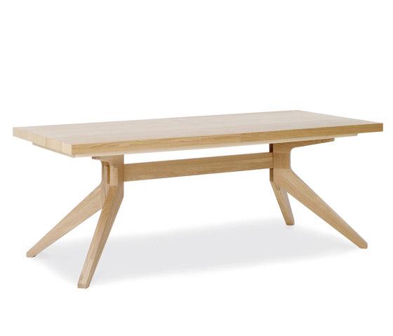 Cross Extending Table Di Case Furniture Tavoli Da Pranzo