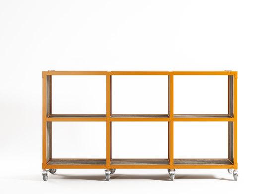 Atelier RACK HORIZONTAL 6 COMPARTMENTS de Karpenter | Estantería