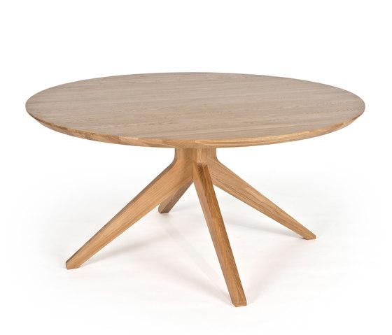 Cross round dining table di Case Furniture | Tavoli pranzo