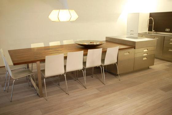 BEECH Vulcano Fresco Arco milled | white oil by mafi | Wood flooring