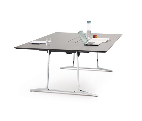 skill conference table system di Wiesner-Hager | Tavoli contract