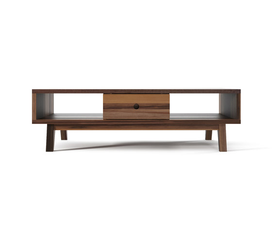 Brooklyn COFFEE TABLE 2 DRAWERS 2 NICHES by Karpenter | Coffee tables